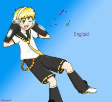Vocaloid England :Request: by Peamimo3