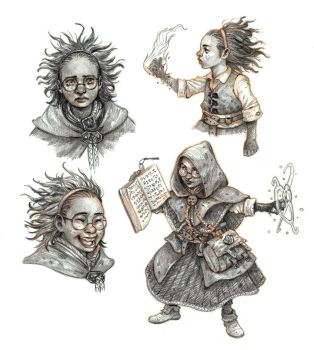 Little mage studies by eoghankerrigan