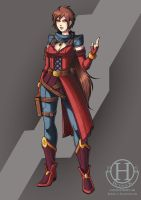 Charadesign CS - Lucilla's Alternate outfit by Hedrick-CS