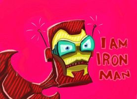 I am Iron Man by Ukinojoe