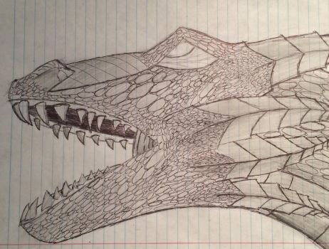 Doodle dragon  by JD2036