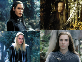 Elves of Rivendell by Lilith-Babydoll