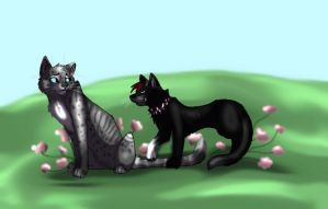 Request Ashfur and scourge by LeopardXCrow