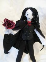How about a rose Darling? by dollmaker88