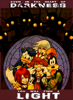 Kingdom Hearts Propaganda-ish Poster by KPants