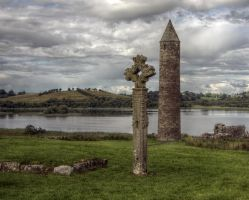 Devenish Island by Isyala