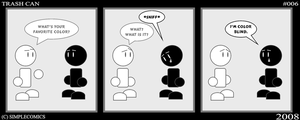 Trash Can No. 6 by simpleCOMICS