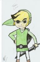 Toon Link -colored- by MTS3