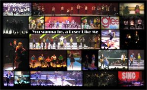 Glee Live collage by ChadtheFab
