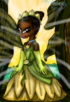 Tiana (lily pad gown) by lollypop081