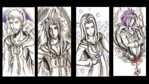 KH- Sketch Bookmarks set 2 by evilitachi