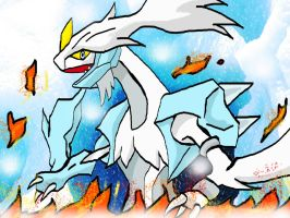 Kyurem New Form - Pokemon White 2 by ShadowsTar26