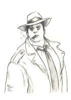 Daily Sketches Harvey Bullock by fedde