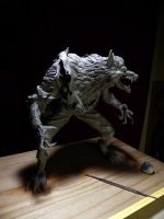 Werewolf-wip-2 by Blairsculpture