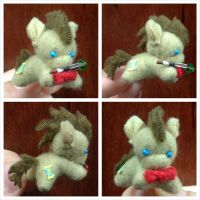 Dr. Whooves Sarubobo (with Sonic Screwdriver) by equinepalette