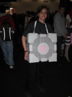 The Weighted Companion Cube by ajhockham