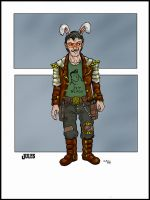 Jules: Strange Shadowrunner by squinkyproductions
