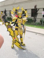 Anime North 2012 - Pikachu Knight by jussicpark