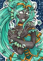 ACEO Queen Iola by nickyflamingo