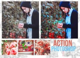 Photoshop Action 7-Vintage Effect. by psdnactions
