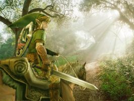 Playing Zelda by driveonparkways