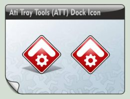 Ati Tray Tools (ATT) Dock Icon by LustaufMeer