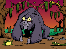 Skunk Ape by PhilRood