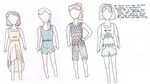 Modern Crossroads Summer clothing by Brittjuhh