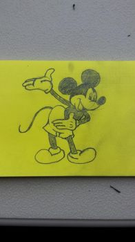 Mickey Mouse by SweetL3w