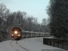 Snow Cat by NJTBrennan