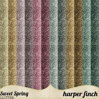 Sweet Spring Glitter by harperfinch