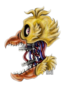 Withered chica :v by 5MEGI5