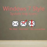 W7 System Tray Mail Icons by HandsettBattery