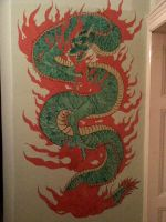 Chinese dragon by DanloS