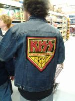 KISS Army Jacket (Back) by UKD-DAWG