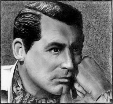Cary Grant by Alene