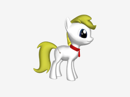 Scarlet (myself As A Pony) 3D ponycreator by everyday-im-wumboing