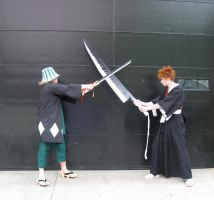 Training Ichigo from ACen 2010 by dunkler-adlig