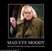 Mad Eye Moody by MorganaDarkness