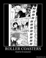 Kagerou Project Demotivator- Roller Coasters by n-trace