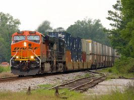 BNSF 7793 by trainshooter