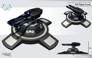 Javelin Light Turret by Calates