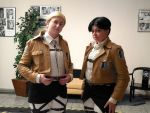 Two Gentlemen from the Survey Corps by Kriegerprinz