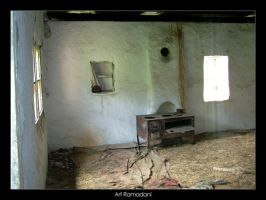 Inside an old house by artti-ad