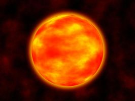 Red Giant Star by Aristodes
