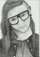 Skrillex by becks77
