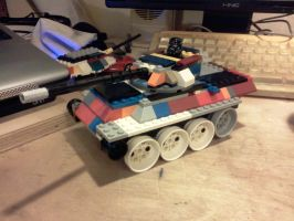 lm-1 light tank (type 2 turret) by ace00004