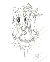 Chiio Sketch Gift by MoshuChan