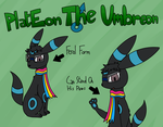 My Pokesona V2 - PlatEon The Umbreon by PlatEon