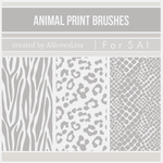 [For SAI] Animal Print Brushes by ASlovesLisa